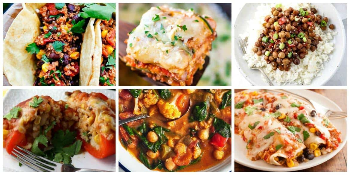 Comforting Slow Cooker Meals - Vegetarian Recipes #crockpot #slowcooker #vegetarian #crockpotmeals #slowcookermeals
