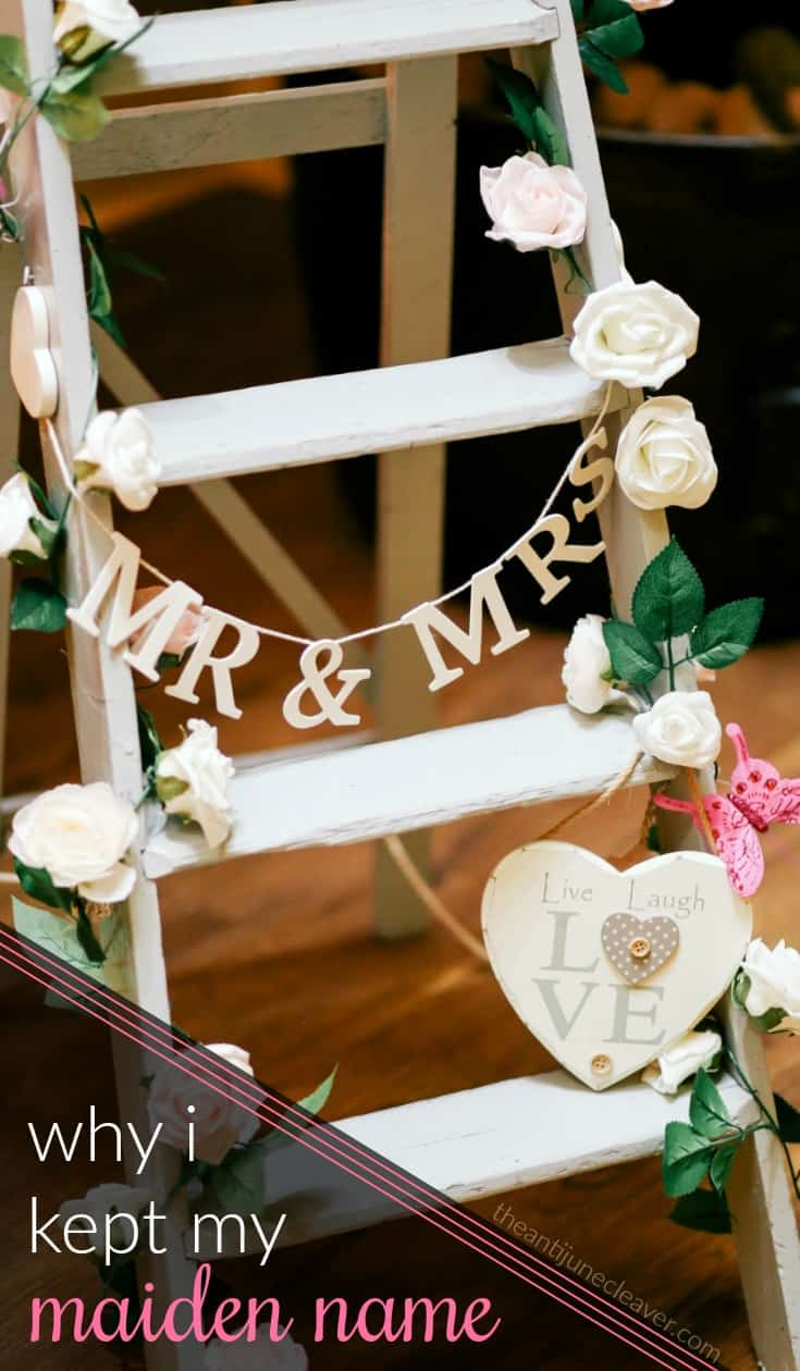 Yes, I Kept My Maiden Name and Here's Why #marriage #wedding #maidenname #marriedname #lastname #married