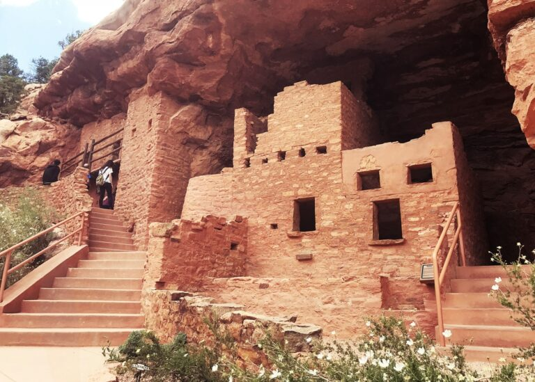 The Amazing Manitou Cliff Dwellings in Colorado