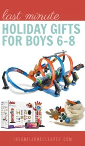 Are you looking for the perfect gift for a 6, 7, or 8 year old boy on your gift list? Whether they like science, books, building toys, or anything in between, find something they'll love from these gift ideas for 6-8 year old boys #giftideas #giftsforboys #christmas #holidays #giftsforkids