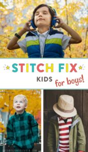 If you've tried Stitch Fix and loved it or are looking for outfit ideas for boys, are frustrated with the lack of boys clothing options in stores (or lack thereof), Stitch Fix Kids is for you! What boys' outfits do they send, how much does it cost, and how is the quality? Find out what we received and what we thought of Stitch Fix Kids for an 8-year-old boy. #stitchfix #stitchfixkids #kidsfashion #boysfashion #boyoutfitideas