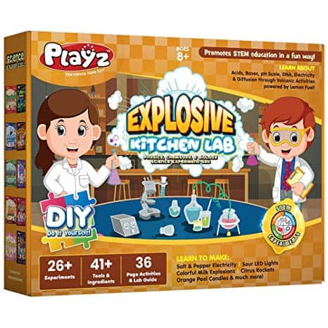 Playz Explosive Kitchen Lab