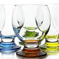 Colored Footed Goblets