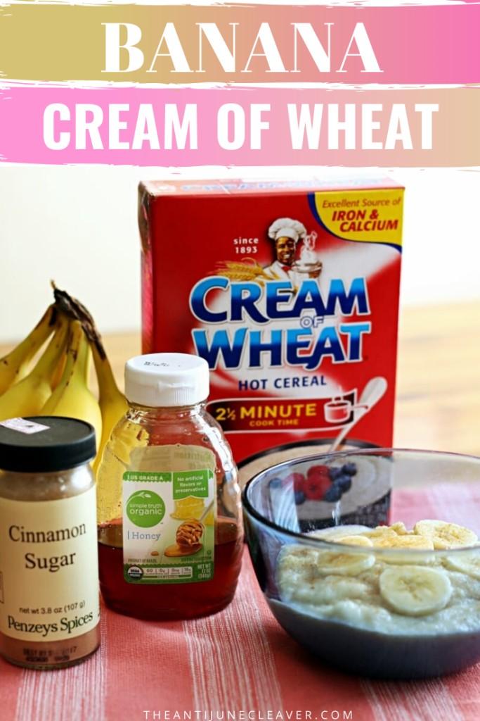banana cream of wheat