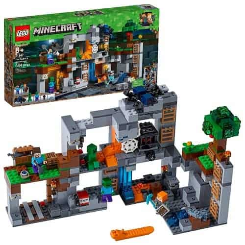 Minecraft Bedrock Adventures Lego Set
