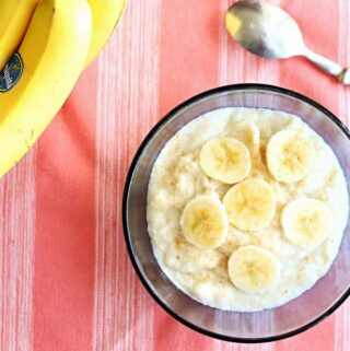 cream of wheat with bananas
