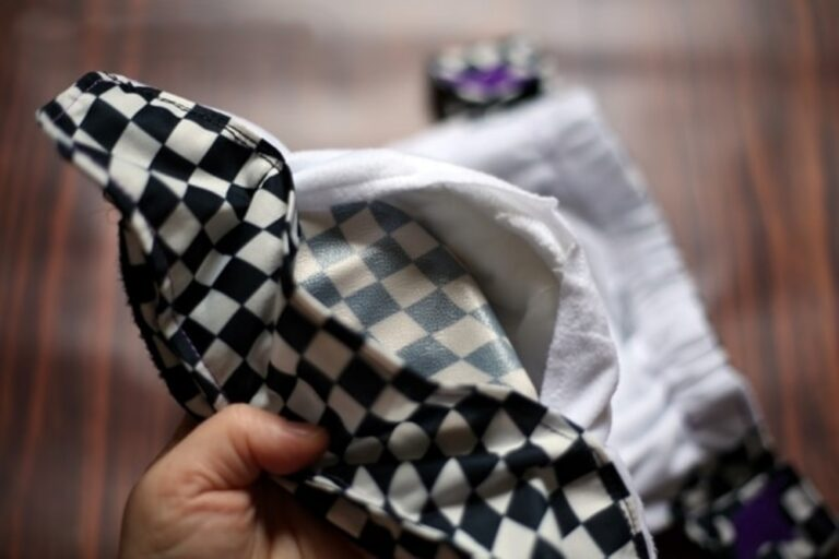 What Do Delaminated Cloth Diapers Look Like?