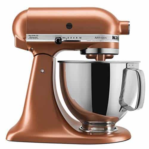 Copper KitchenAid Stand Mixer, 5 quart