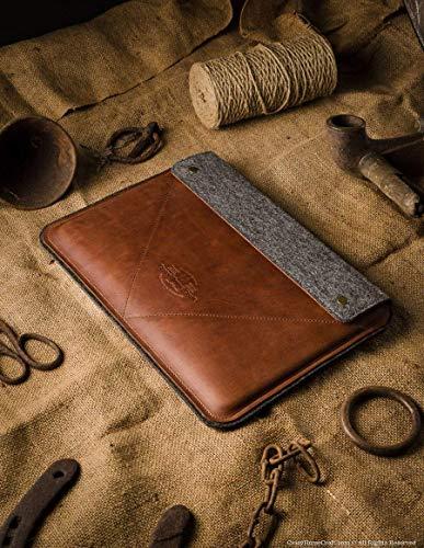 Handmade Leather & Wool Felt MacBook Pro Case