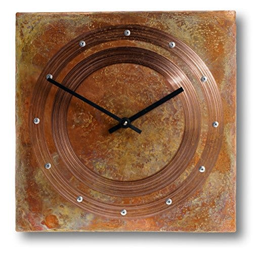 12-inch Copper Wall Clock