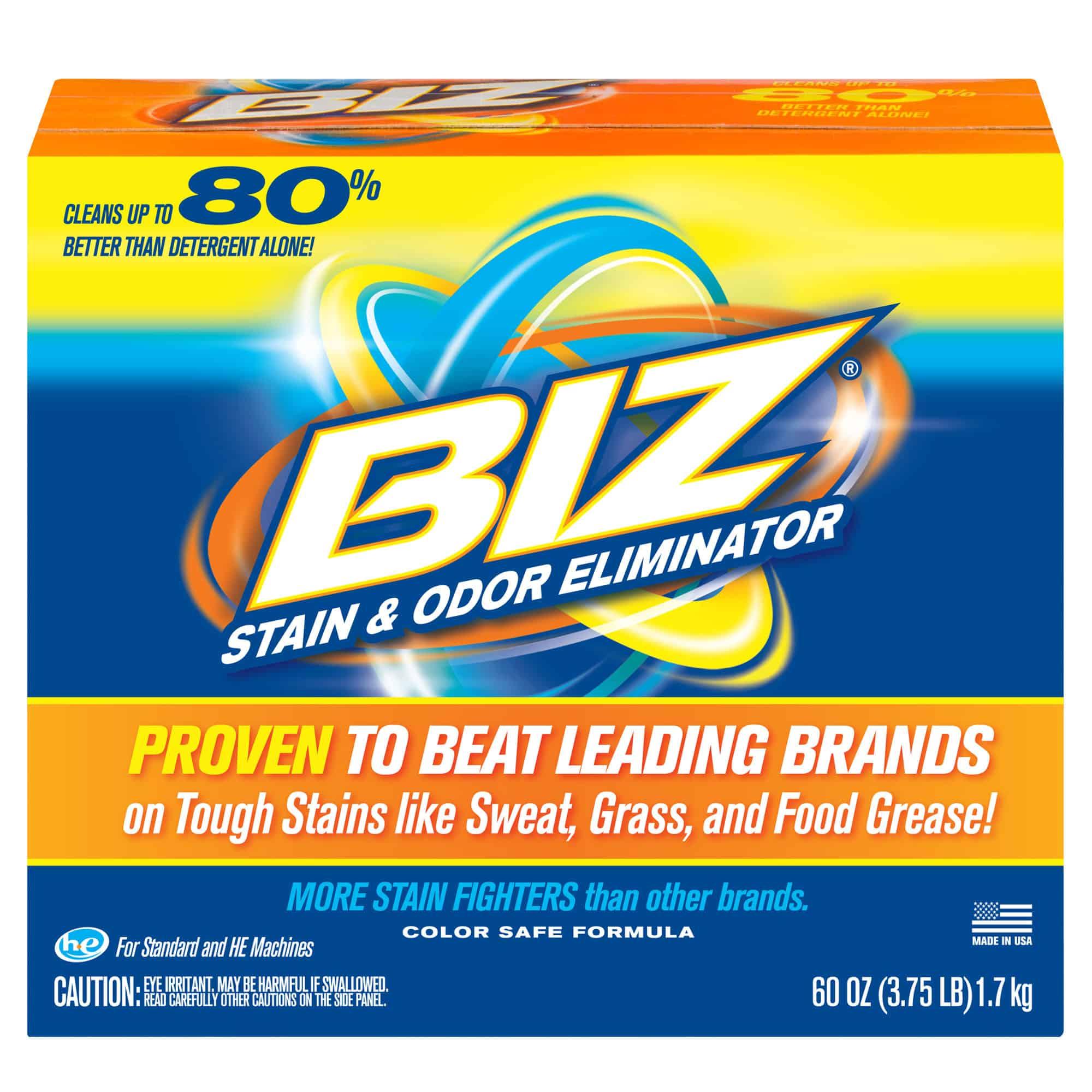 Biz Stain & Odor Eliminator, 60 oz - Walmart.com