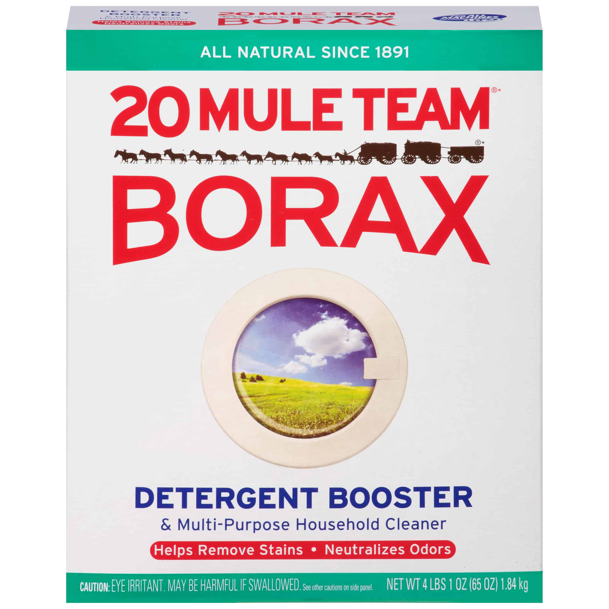 20 Mule Team Borax Detergent Booster & Multi-Purpose Household Cleaner, 65 Ounce - Walmart.com