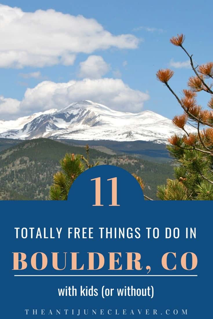free things to do in Boulder, Colorado