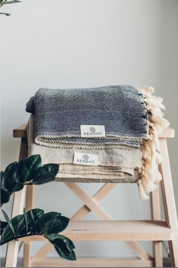 Kenshō Artisan Wool Blanket