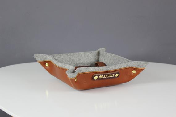 Wool, Copper, & Leather Catchall