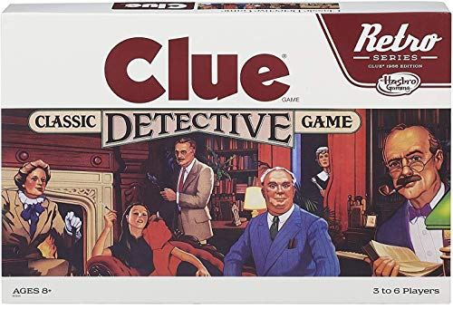 Retro Series Clue Game