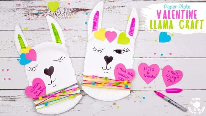 Paper Plate Llama Craft
