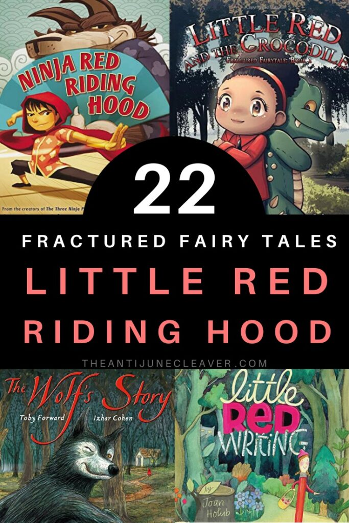 Fractured Fairy Tales Little Red Riding Hood