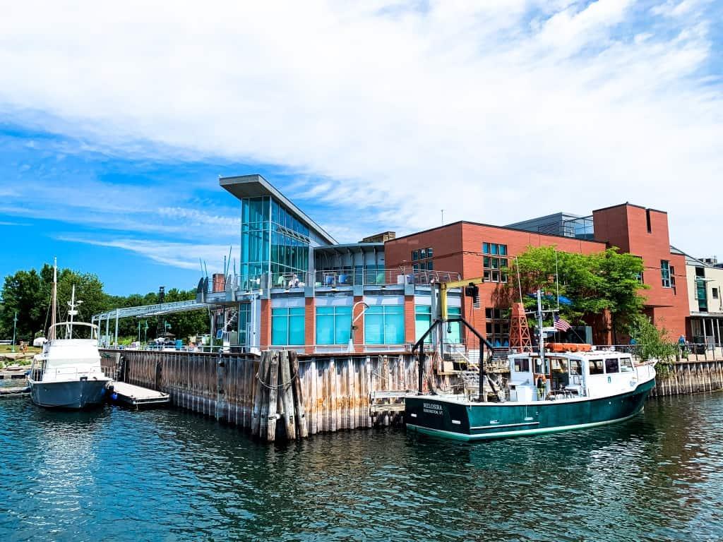 ECHO, Leahy Center for Lake Champlain front, Burlington, VT
