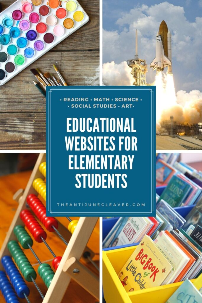 Educational Websites for Elementary Students