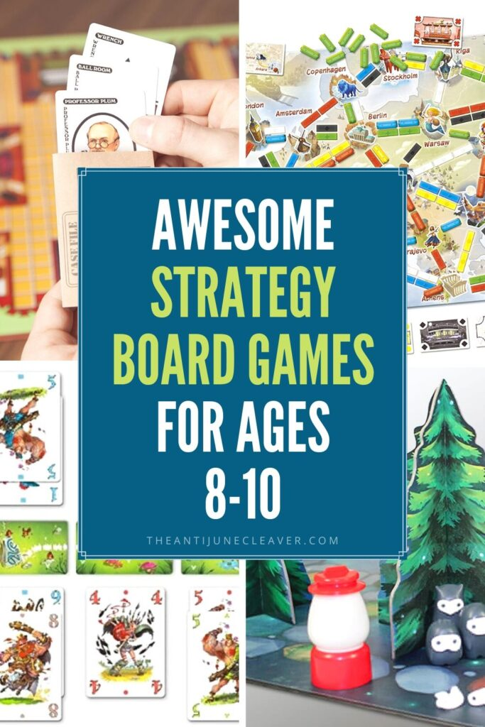 Strategy Board Games for 8-10 Year Olds