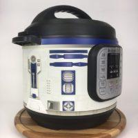 Blue and white droid wrap - Instant Pot wrap