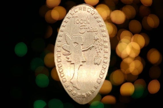 Tooth Fairy Pressed Penny