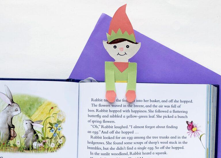 How to Make a Christmas Elf Bookmark