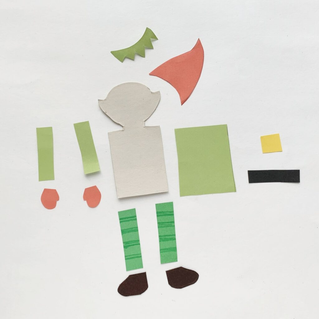How to make a paper elf