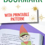 How to make a paper elf bookmark