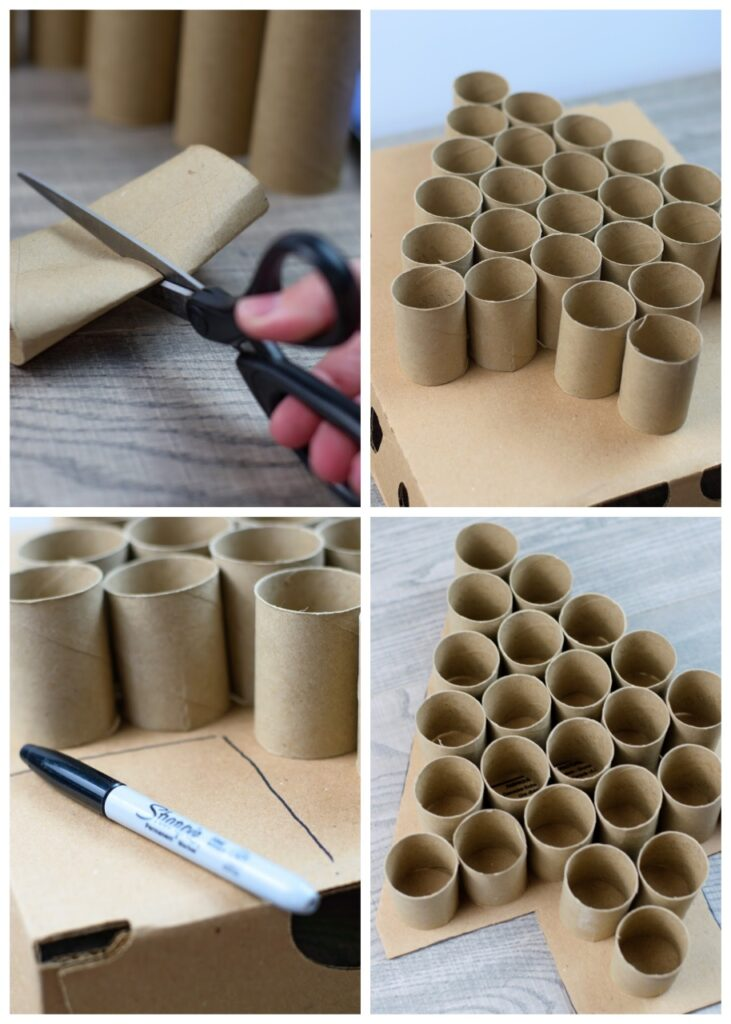 How to make a toilet roll advent calendar