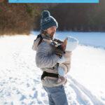 Babywearing in winter tips
