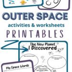Outer space printables for kids