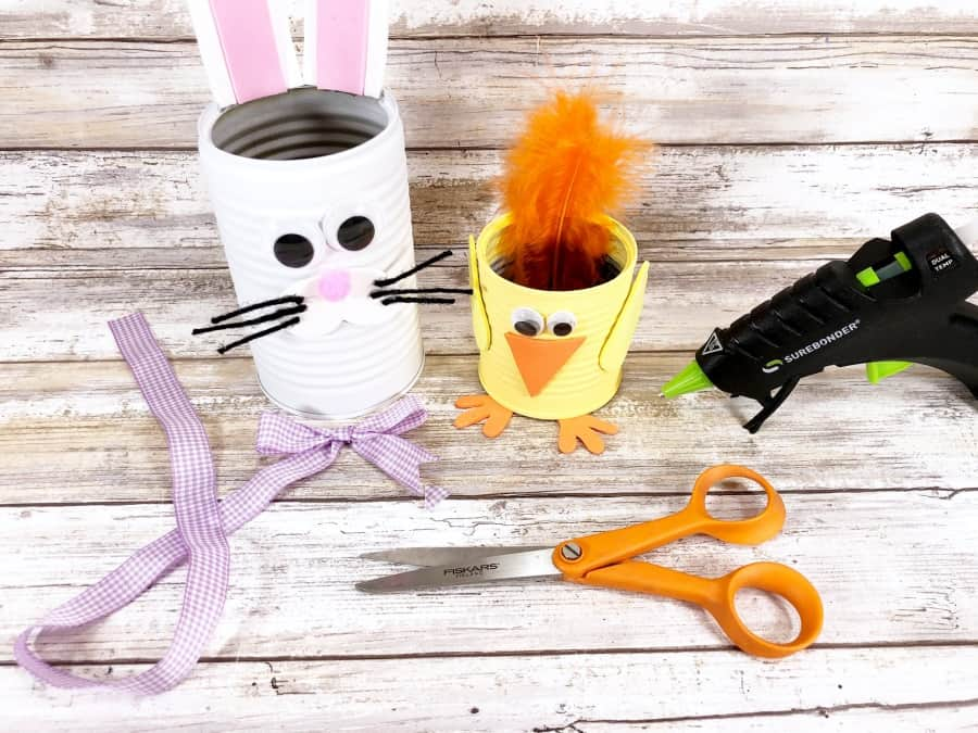 tin can easter crafts