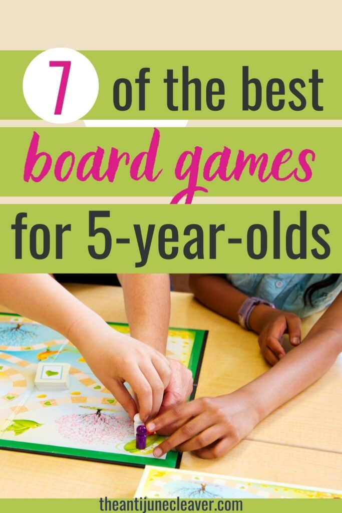 Best board games for a 5-year-old