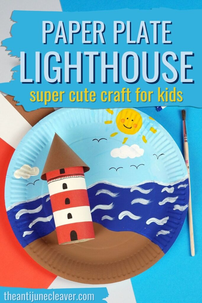 Kids' lighthouse craft