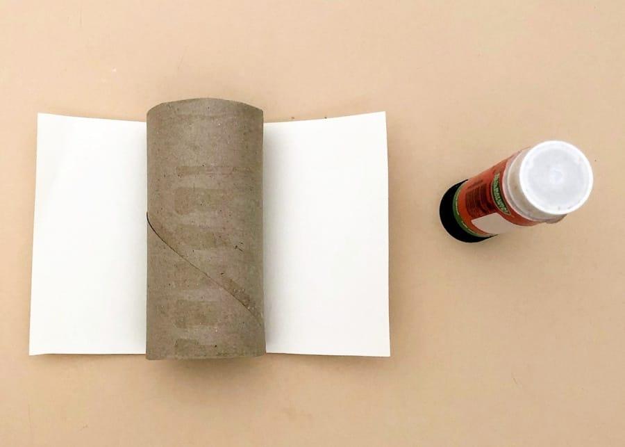 Paper tube lighthouse