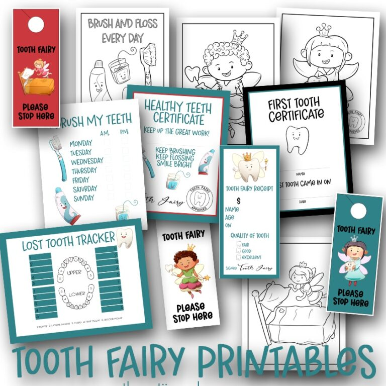 Easy Last-Minute Tooth Fairy Ideas