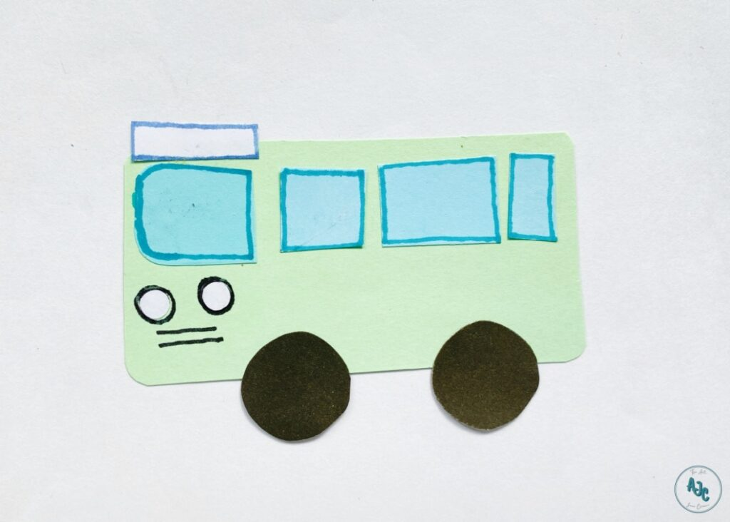 Don't Let the Pigeon Drive the Bus paper craft ideas