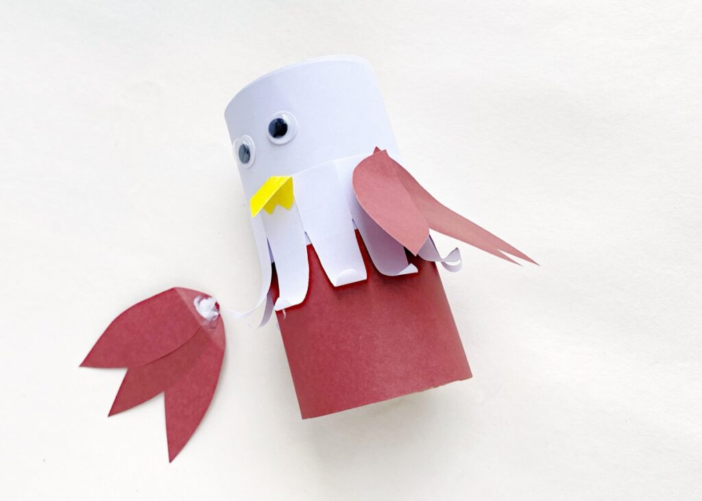How to make a paper bald eagle