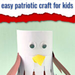 Toilet tissue roll eagle craft