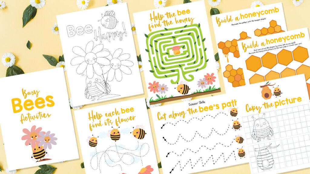 Honey Bee Activities for Kids