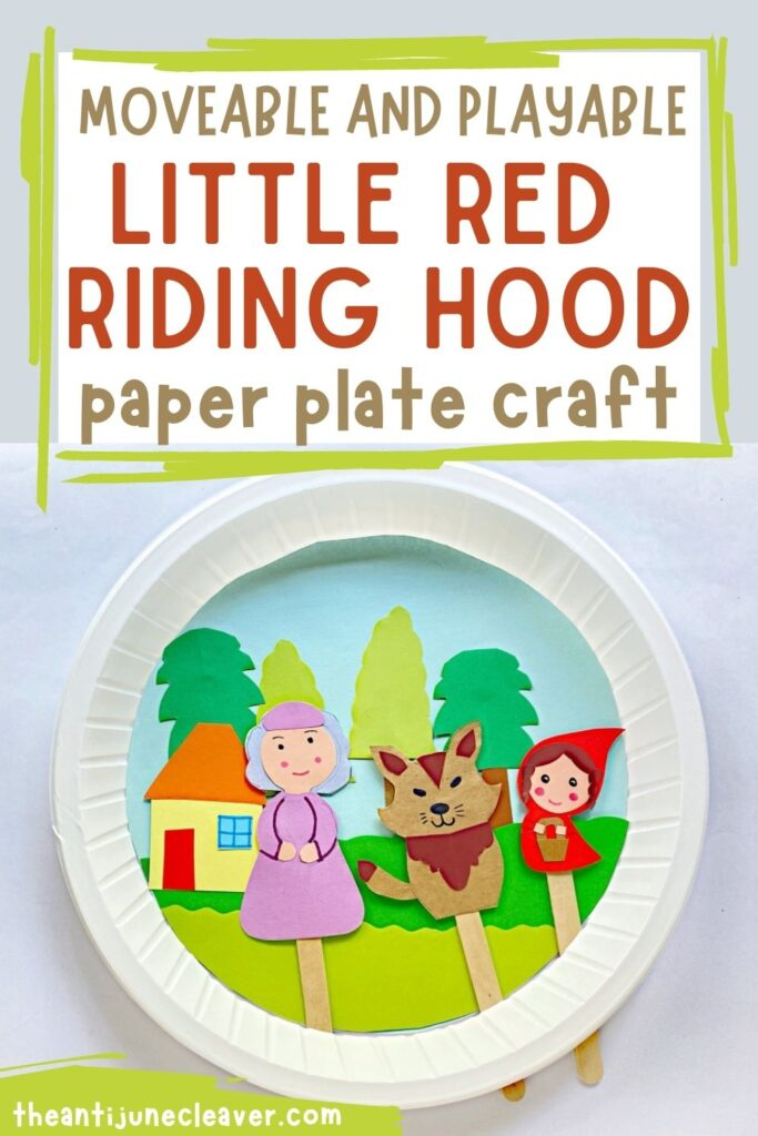 Little Red Riding Hood & Big Bad Wolf Craft