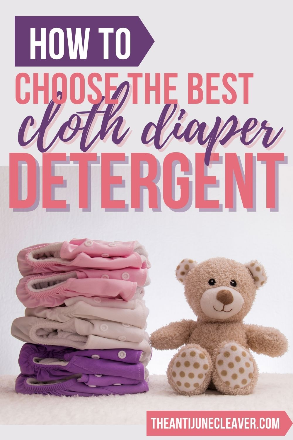 How to choose cloth diaper detergent