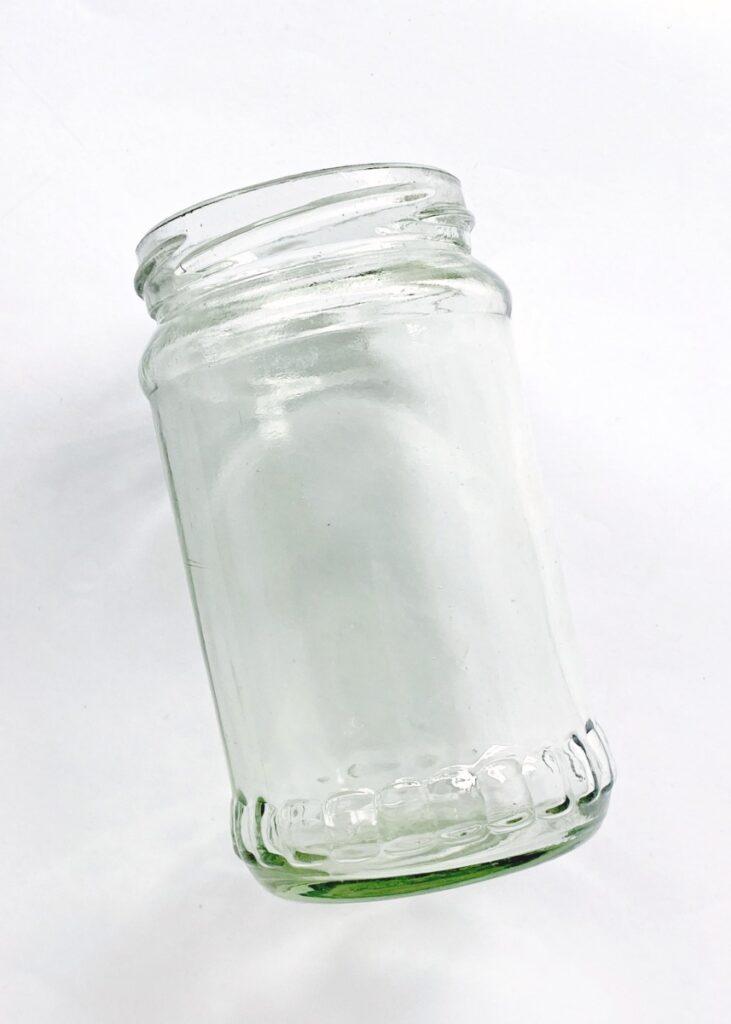 Making a Halloween mason jar craft